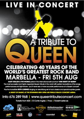 Concierto homenage a Queen Marbella 2011