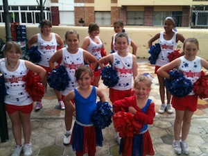 Costa all stars cheerleaders