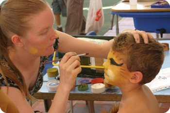 costa face painting