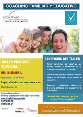 Taller vivencial de Coaching Familiar en Marbella